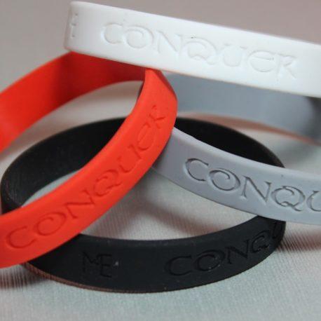 conquer bracelet