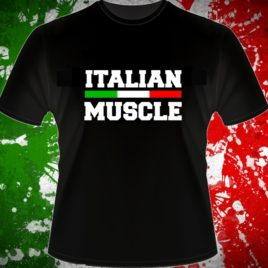 Italian Muscle T-shirt, black