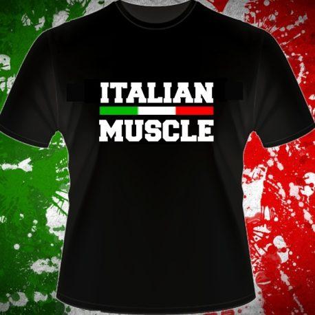 ITALIAN MUSCLE T-SHIRT MAGLIETTA