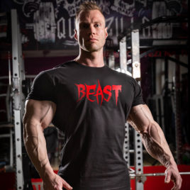 BEAST T-shirt, black