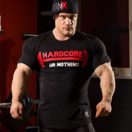 HARDCORE OR NOTHING T-shirt