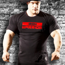 IRON WARRIOR T-shirt, black