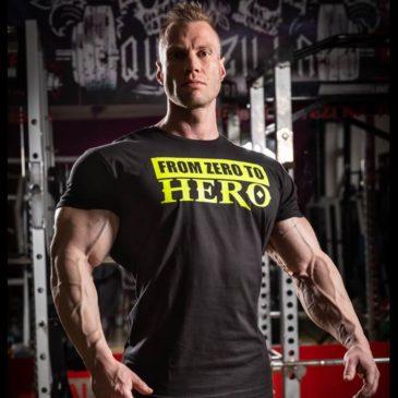 FROM ZERO TO HERO T-shirt