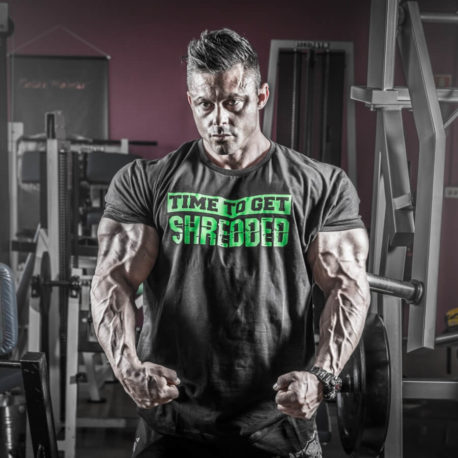 time to get shredded t-shirt 2