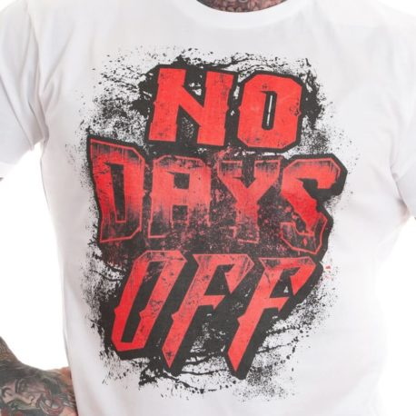 NO DAYS OFF M4E T-SHIRT 2
