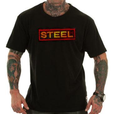 STEEL T-shirt, black