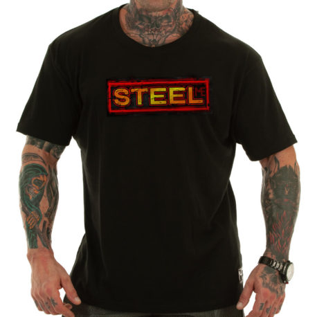 STEEL MOTIVATIONAL T-SHIRT
